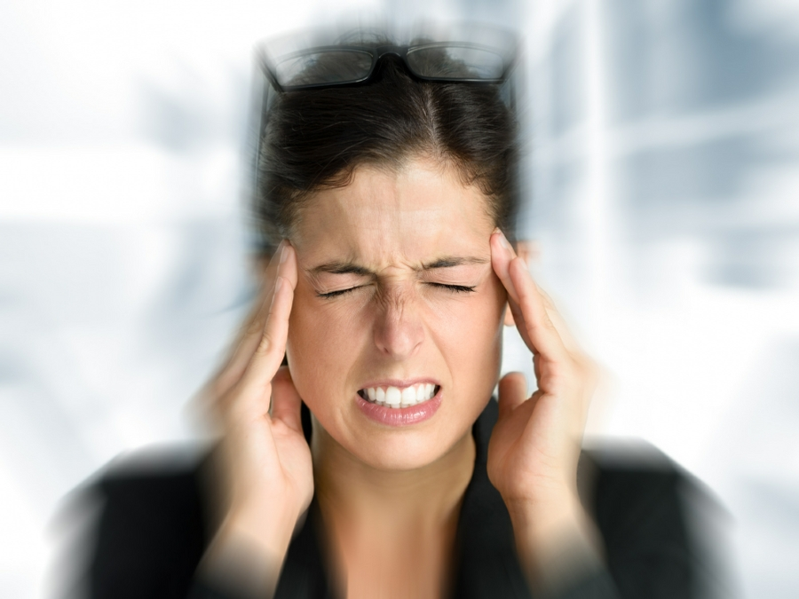 Hypnosis for Pain in Your Town - Woman with Migraine Headache