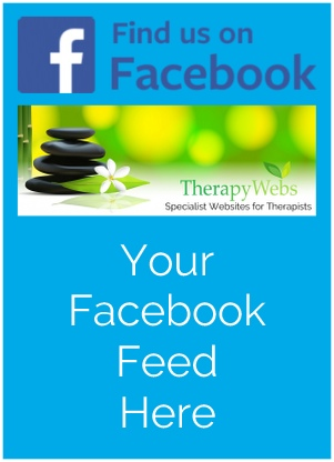 ultimate hypnotherapy website design facebook feed